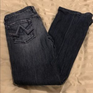 7 for all man kind bootcut jeans. Size 25